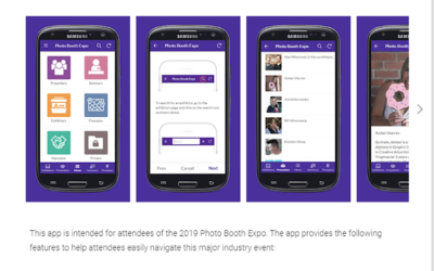 Photo Booth Expo 2019 App Launched For Android